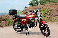 Мотоцикл SPARK SP110C-2С (красный,серый,бордо) + ДОСТАВКА бесплатно, фото 1