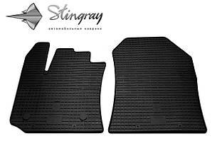 Dacia Lodgy 2012- Комплект из 2-х ковриков Черный в салон