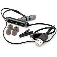 Наушники Bluetooth гарнитура Walker WBT-11 Серый