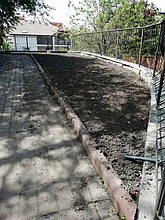Рулонний газон м.Київ вул.Менделєєва  4