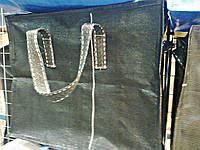 Сумка хозяйственная чёрная  40 х 35 х 20 см