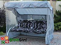 Садовые качели ТОЛЕДО GreenGard 2 вида подушек