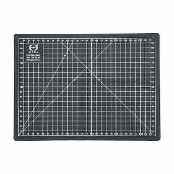 Коврик для резки, А4 (300х220х3мм), черный, DAFA