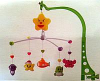 Детская игрушка Карусель Мобиль на кроватку музыкальная