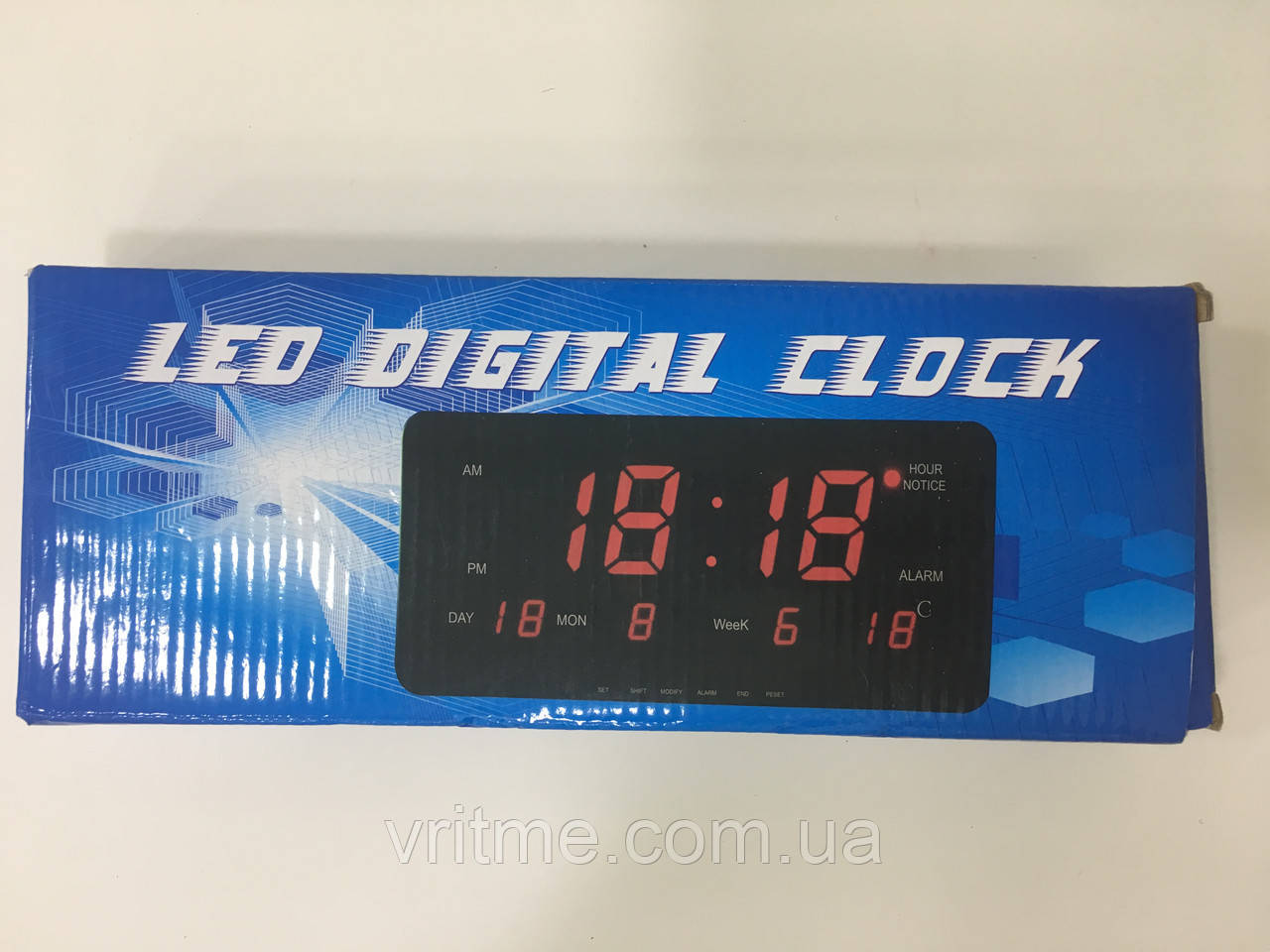 Настільний годинник 1008-1 Led Digital Clock + календар і термометр