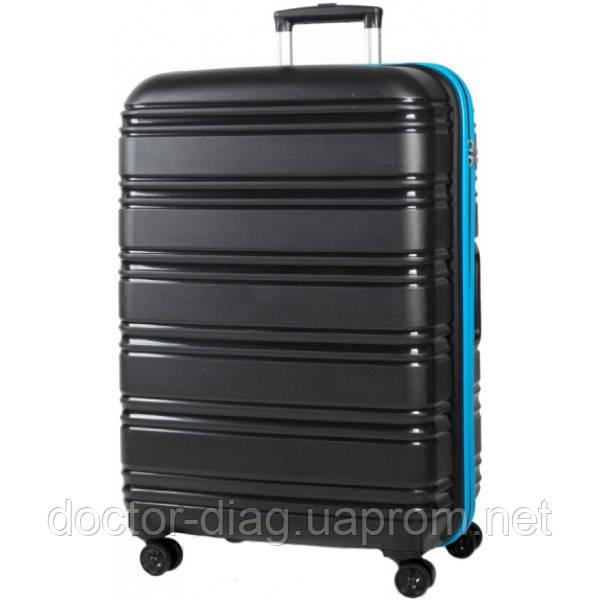 Rock Luggage Чемодан Rock Impact II (M) Black/Blue
