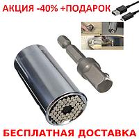 Универсальный торцевой ключ  Magic Socket Wrench + зарядный USB-microUSB кабель
