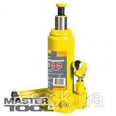MasterTool  Домкрат гидравлический бутылочный  5 т, 216-413 мм в пласт. кейсе, Арт.: 86-1050