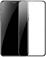 Защитное стекло для iPhone XR Baseus Full coverage curved tempered glass protector 6.1inch Black
