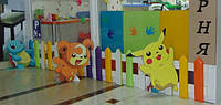 Мягкие стены для детской игровой комнаты