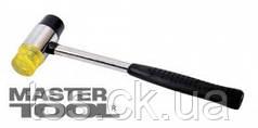MasterTool  Молоток жестянщика 35 мм резина/пластик, металлическая рукоятка, Арт.: 02-0330