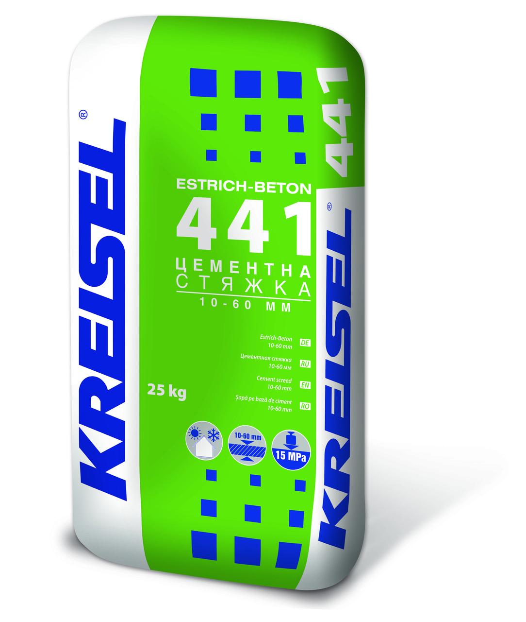 KREISEL цементная стяжка М-15 №441, 25 кг