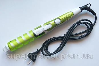 Спиральная плойка для волос RIZHEN RZ-118, салатная, фото 2
