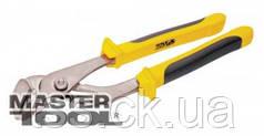 MasterTool  Щипцы трубные 200 мм, C55, HRC 45~50, Арт.: 23-4200