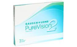 Линзы ежемесячной замены PureVision 2