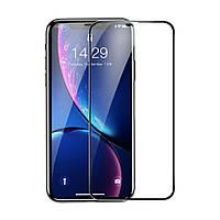 Защитное стекло для iPhone XR Baseus Rigid-edge curved-screen tempered glass screen protector 6.1inch Black