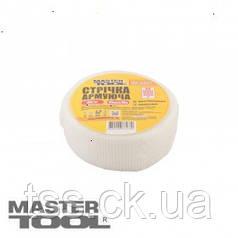 MasterTool  Лента стеклотканевая с липким слоем  45 мм* 90 м 8*8 60г/м.кв, Арт.: 08-9404
