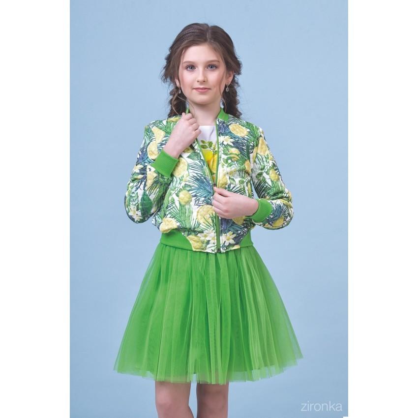 Куртка и юбка Lemon р.134-146 Zironka