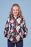 Куртка-Бомбер для девочки р.134-146 Zironka 48-8015-3, фото 1