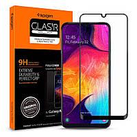 Защитное стекло Spigen для Samsung Galaxy A50 (2019) GLAS.tR Full Cover, Black (611GL26283)