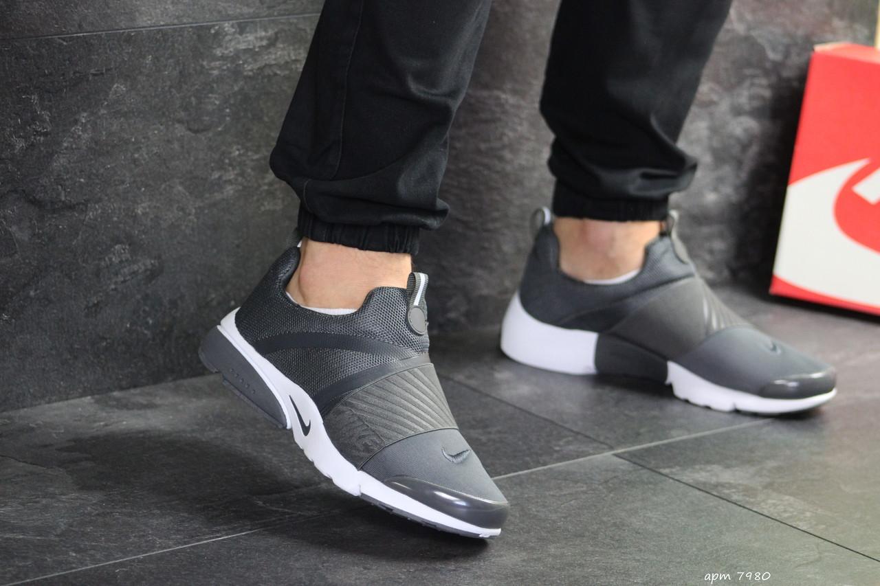 Чоловічі кросівки Nike Presto (сірі)