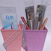 Стакан-подставка для кистей и пилок, ажурный (цвет в ассортименте)
