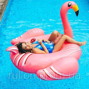 Надувной круг матрас фламинго плот, гигантский розовый фламинго , плотик для бассейна