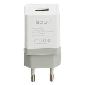 Сетевое зарядное устройство (адаптер) Golf GF-U1 1 USB (1А ) ORIGINAL