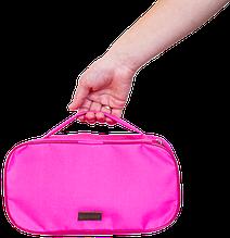 Органайзер косметичка прямоугольная Розовая