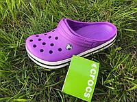 Кроксы женские Crocs. Летние сабо, сандалии. , фото 1