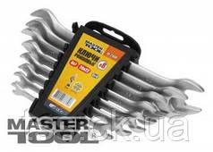 MasterTool  Ключи рожковые набор  6 шт(6х7 TO 16х17)SS, Арт.: 70-2106