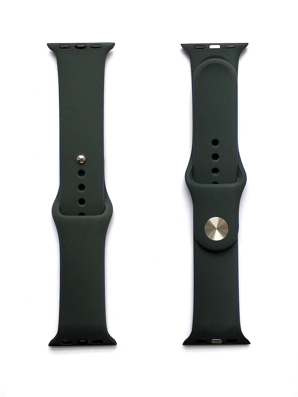 Силиконовый ремешок для Apple Watch Размер 42-44 (Лунная полночь)