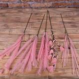 10 декоративних гілок рожевих, фото 3