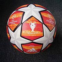 Мяч футбольный Лиги Чемпионов 2018-2019 оранжевый реплика