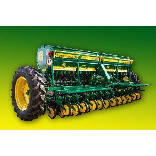 Принцип работы зерновой сеялки