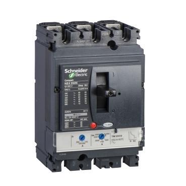 Автоматичний вимикач Compact NSX 3P3D TM160D NSX250N 50кА LV431832