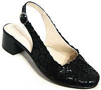 Босоножки на маленьком каблуке кожа 36-44 размеры BR0018