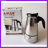 Гейзерная кофеварка A-PLUS 2087 на 4 чашки