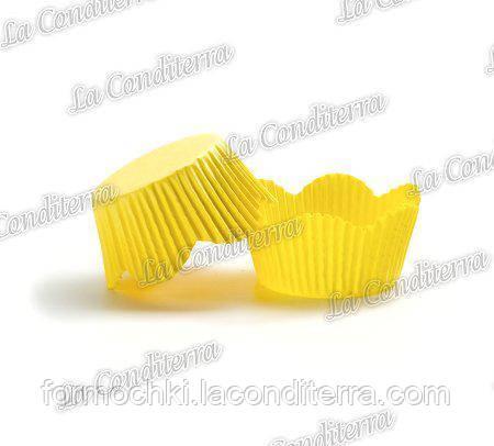 Форми-жовті ромашки РМ-7 (діаметр - 50 мм, висота бортика - 23/30 мм), 200 шт. в тубусі