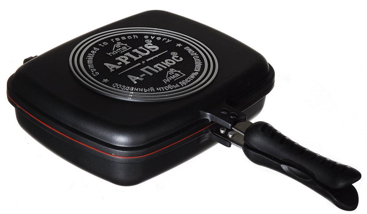 Сковорода двухсторонняя для гриля и жарки A-PLUS 30 см