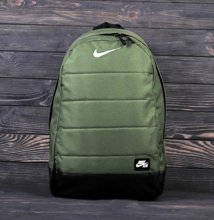 Городской,спортивный рюкзак Nike Air 20л - Хаки - Реплика