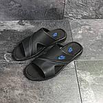 Мужские шлепки Nike (черные) , фото 4