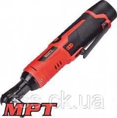 "MPT  Трещотка ударная 3/8"" аккумуляторная, 12 V, Li-ion, 1.5 Ач, 40 Нм, 280 об/мин, аксес.7шт, кейс, Арт.: MCRW1240.B1"