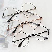 Круглые имиджевые очки 4 цвета оправы