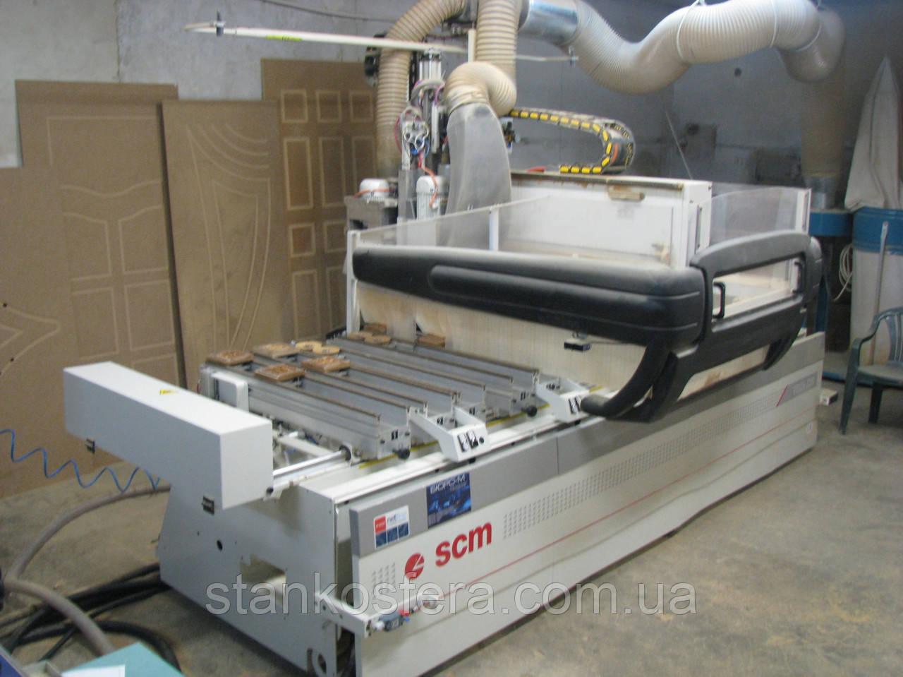 Обрабатывающий центр бу SCM Tech Z25 (сверлильно-фрезерный станок с ЧПУ) 08г.