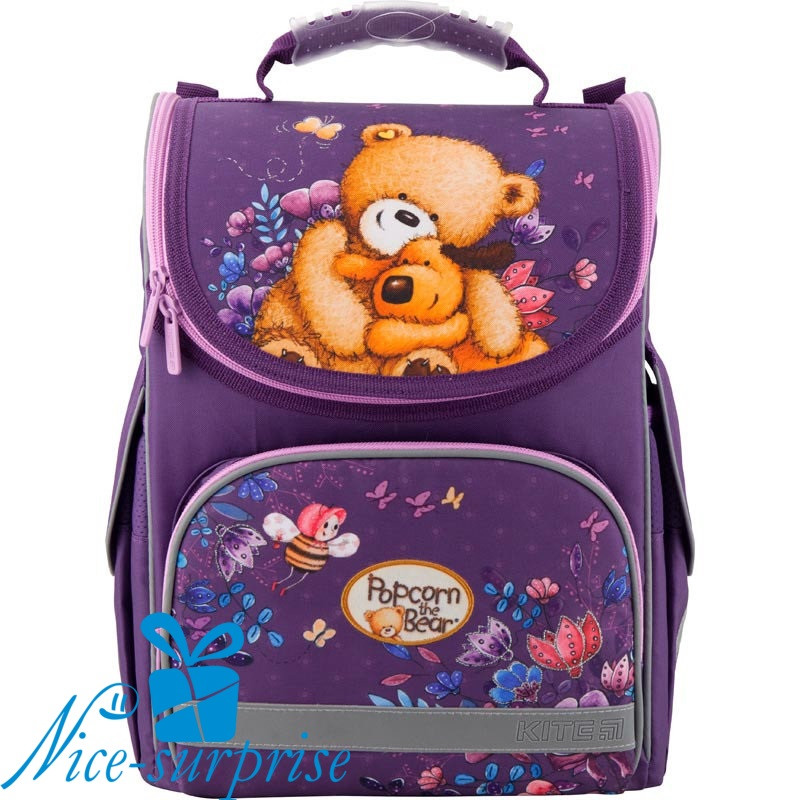 14a0e79c7c76 Рюкзак для первоклассника Kite Popcorn the Bear PO19-501S ...