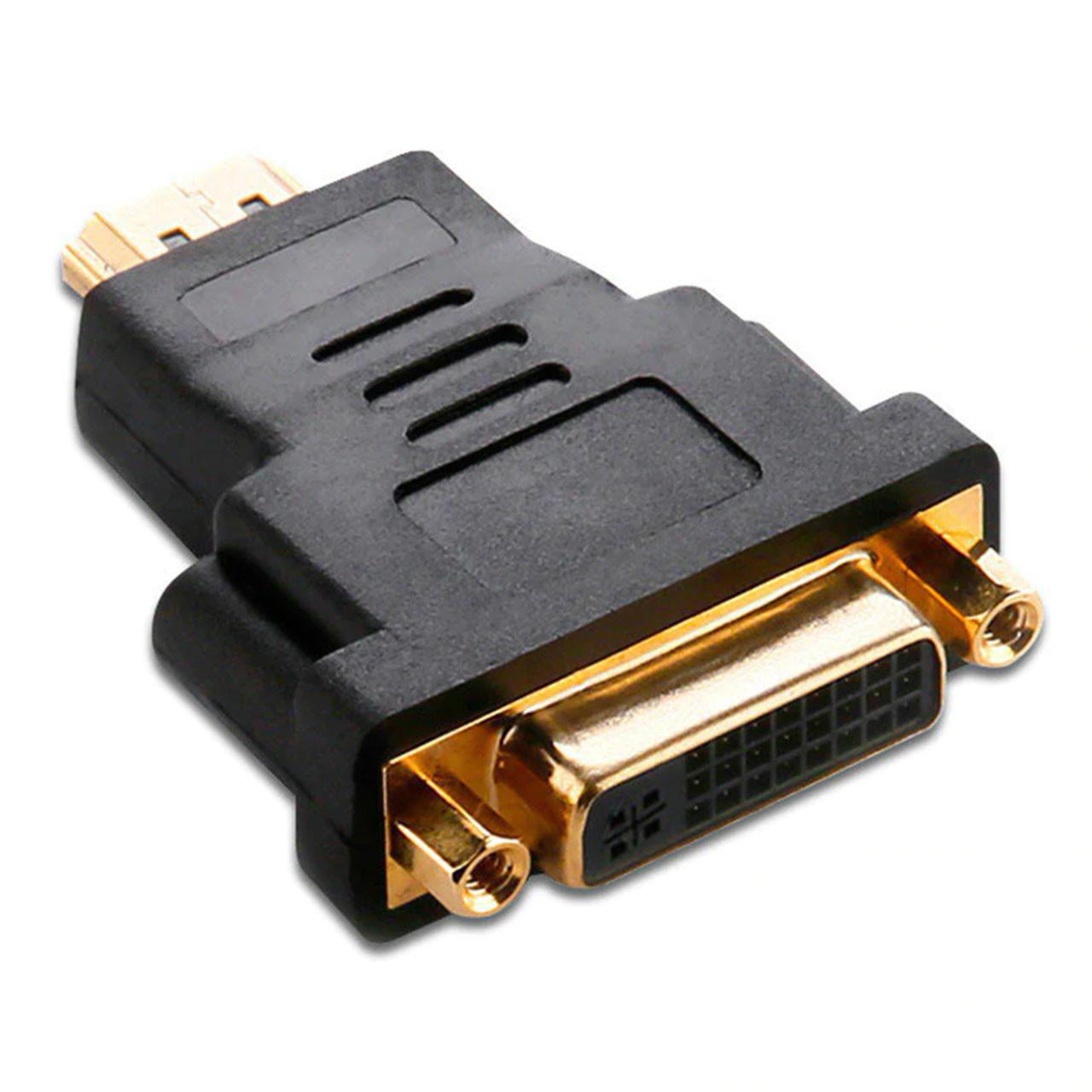 ➤Переходник HDMI-DVI для компьютера и ноутбука передача цифрового сигнала на аналог мультимедийный