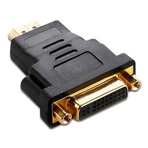➤Переходник HDMI-DVI для компьютера и ноутбука передача цифрового сигнала на аналог мультимедийный, фото 2