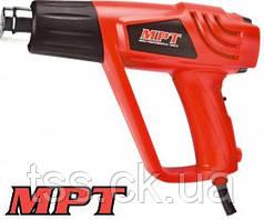 MPT  Фен промышленный 2000 Вт, 350-550*С, 300-500 л/мин, аксесс 5 шт, Арт.: MHG2003