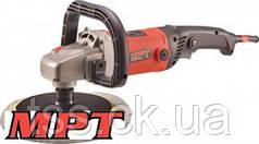 MPT  Машина угловая полировальная 180 мм, 1200 Вт, 600-2700 об/мин, Арт.: MPO1203